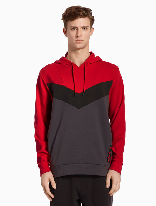 CALVIN KLEIN RETRO HOODED SWEATSHIRT
