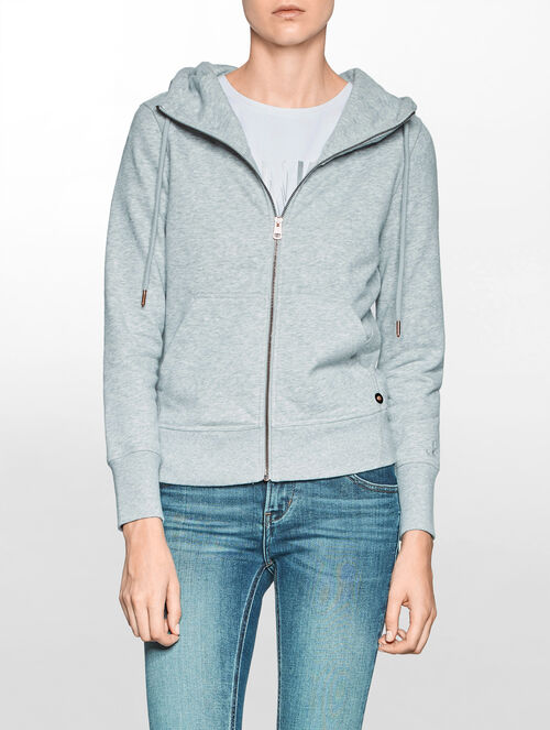 CALVIN KLEIN A-HALLE HEAVY WEIGHT KNIT ZIP CARDIGAN