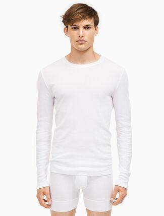 CALVIN KLEIN 205W39NYC クルーネック ロングスリーブシャツ 3 パック