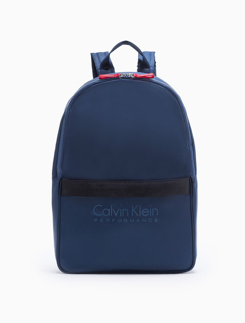 CALVIN KLEIN EXPANDABLE ZIP-AROUND BACKPACK
