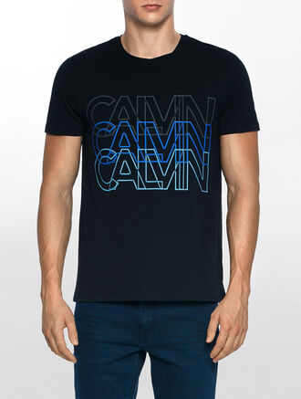 CALVIN KLEIN TRIOM CREW NECK SHORT SLEEVES TEE