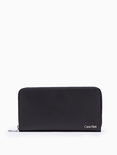 CALVIN KLEIN AIDEN LONG ZIP-AROUND WALLET