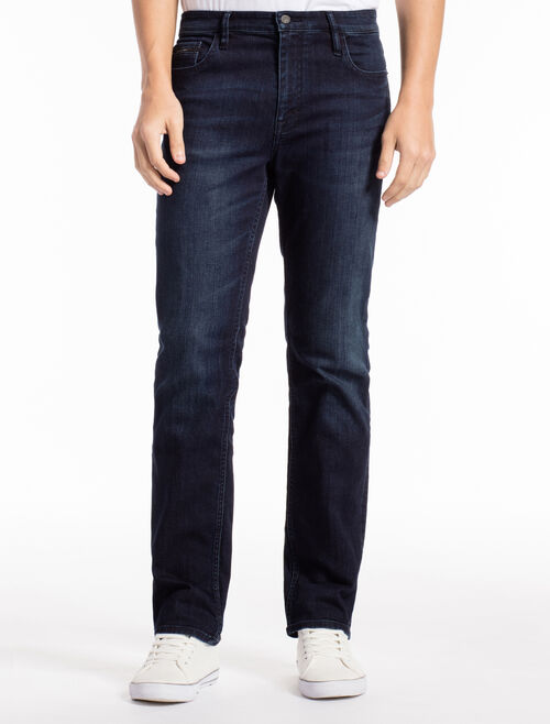 CALVIN KLEIN TRUE WOVEN SLIM STRAIGHT JEANS