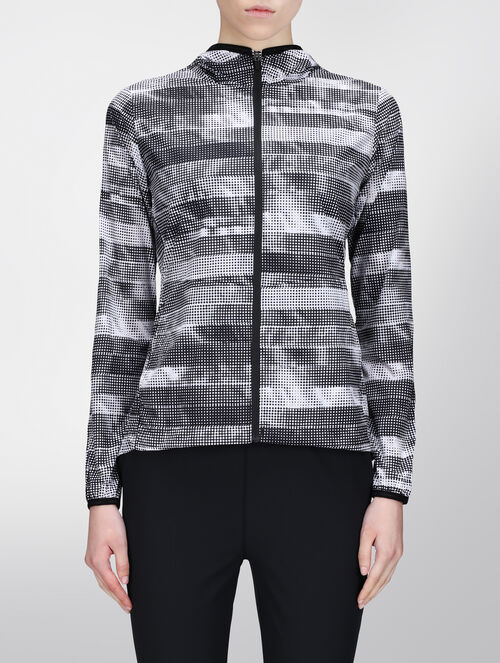 CALVIN KLEIN ALL OVER PRINT WINDBREAKER