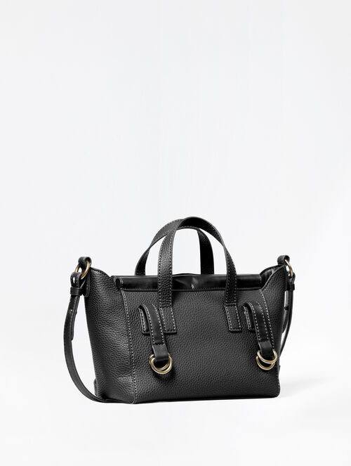 CALVIN KLEIN ZOE PEBBLE CITY SATCHEL