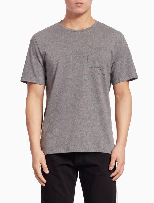 CALVIN KLEIN ロゴポケット ショートスリーブ Tシャツ