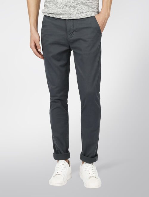 CALVIN KLEIN FITTED CHINO PANTS
