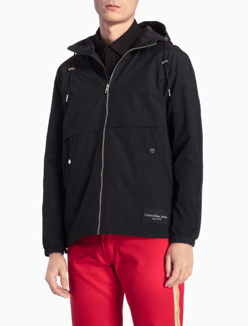 CALVIN KLEIN HOODED ZIP JACKET