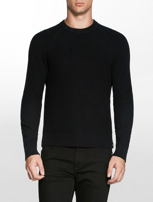 CALVIN KLEIN SPOTTON CN SWEATERLS