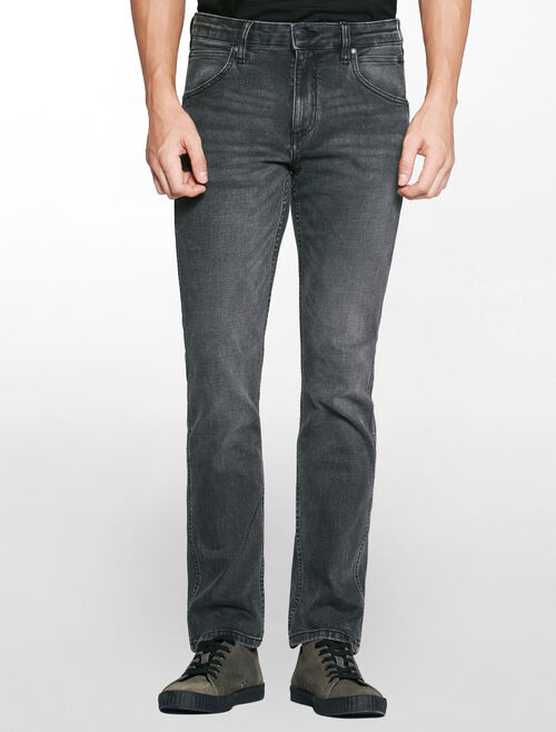 CALVIN KLEIN AXE GREY SCULPTED SLIM SKINNY JEANS