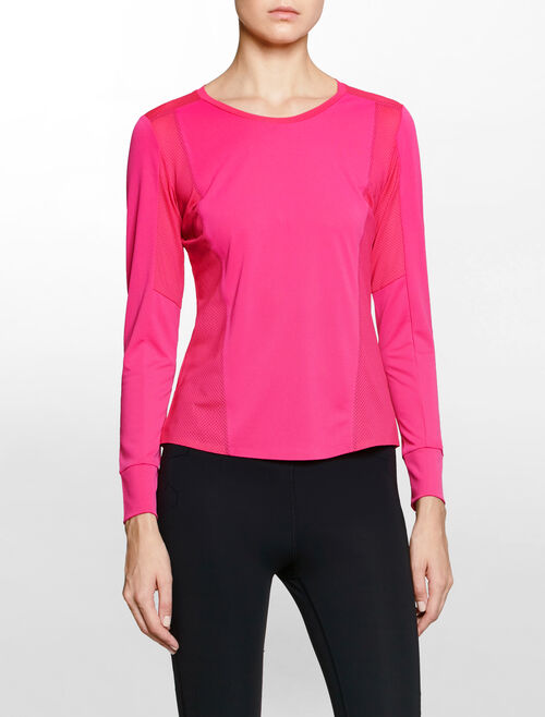 CALVIN KLEIN BOND SEAM LONG SLEEVE TEE