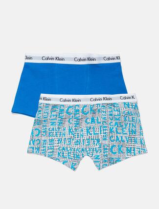 CALVIN KLEIN 2 PACK TRUNKS FOR BOYS