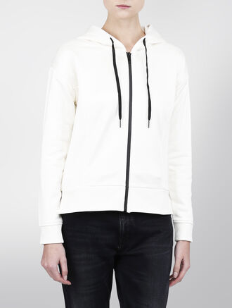 CALVIN KLEIN JAEL HOODY ZIP THROUGHT CARFIGAN