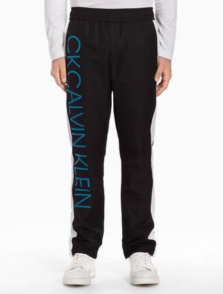 CALVIN KLEIN Contrastive band pants
