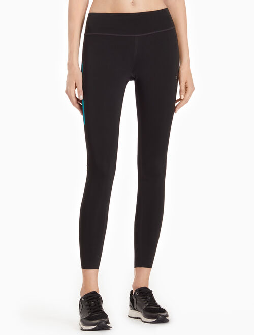 CALVIN KLEIN BONDED FULL-LENGTH LEGGINGS