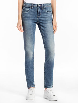 CALVIN KLEIN KEANU BLUE STRAIGHT BODY JEANS