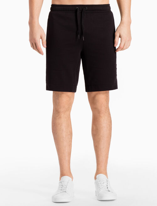 CALVIN KLEIN LOGO TERRY SWEAT SHORTS