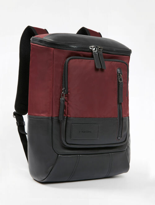 CALVIN KLEIN TECH ZIP AROUND BACKPACK