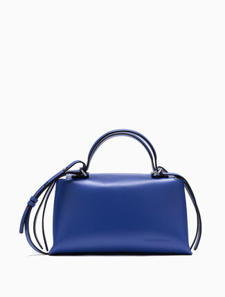 CALVIN KLEIN LEATHER TOOL BOX BAG