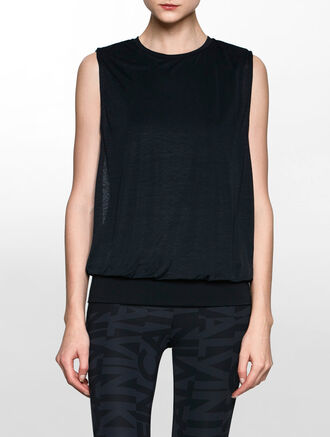 CALVIN KLEIN OPEN SIDE 2 LAYERS TANK