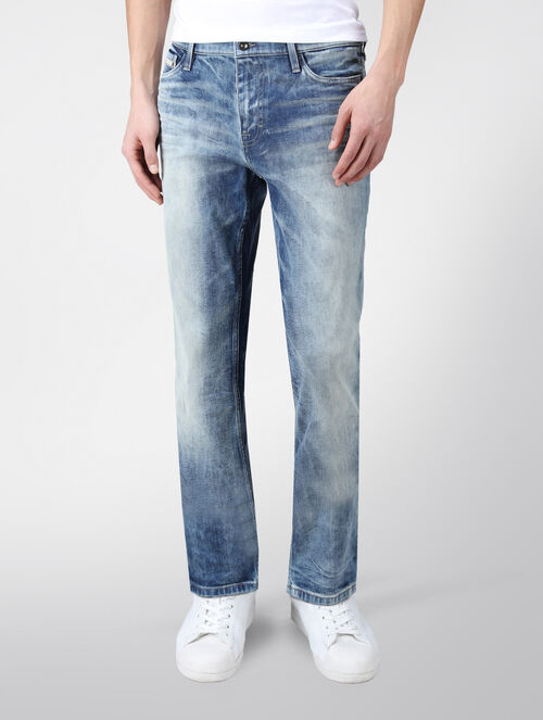 CALVIN KLEIN SUNRISE SLIM STRAIGHT JEANS