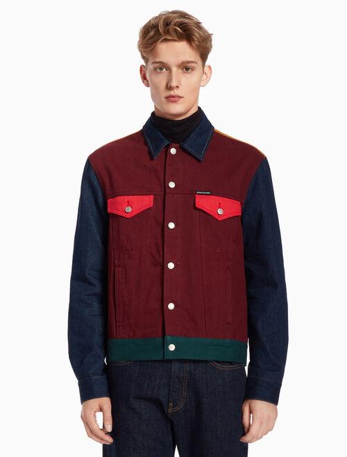 CALVIN KLEIN 데님 트럭커 재킷