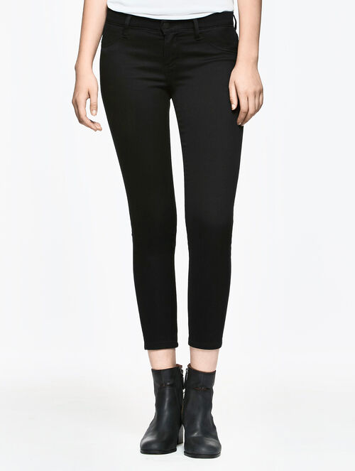 CALVIN KLEIN BITTER BLACK WASH DENIM LEGGING