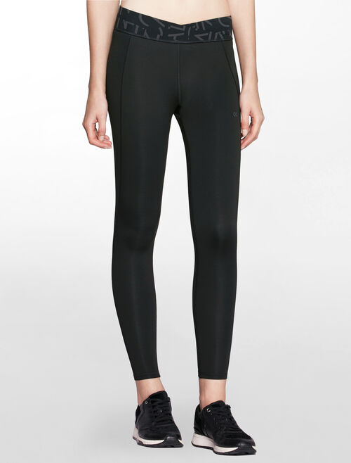 CALVIN KLEIN BOND REVERSIBLE FULL LENGTH LEGGING