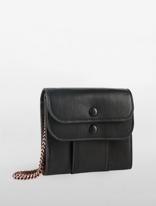 CALVIN KLEIN SMALL CARGO POCKET CHAIN WALLET