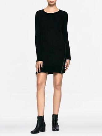CALVIN KLEIN DORIT LONG SLEEVES DRESS