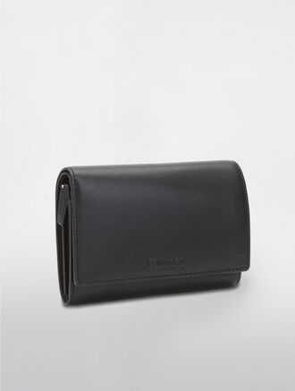 CALVIN KLEIN COMPACT FLAP CLASSIC WALLET