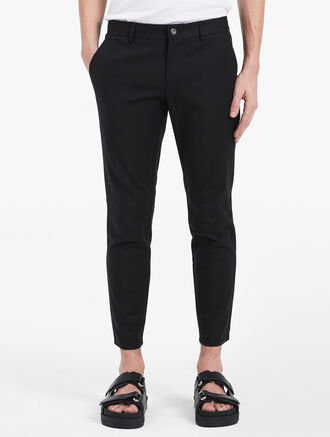CALVIN KLEIN RIB STRETCH BIKER PANTS