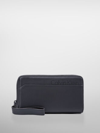 CALVIN KLEIN LONG ZIP FOLD WALLET
