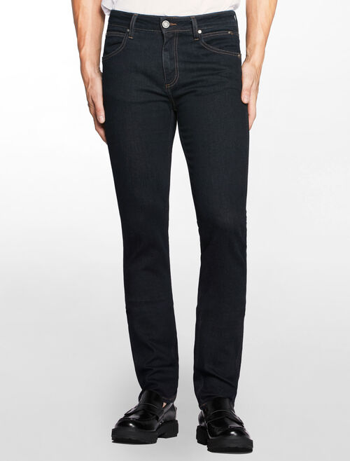 CALVIN KLEIN REAL RINSE SCLUTPED SLIM JEANS