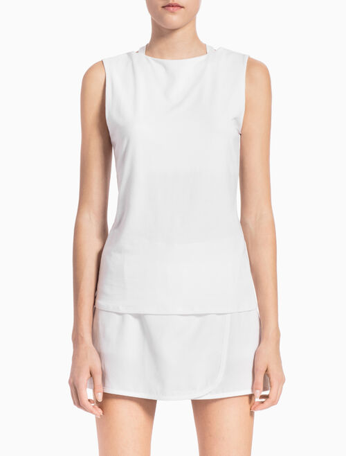 CALVIN KLEIN HOLLOW-BACK TANK TOP