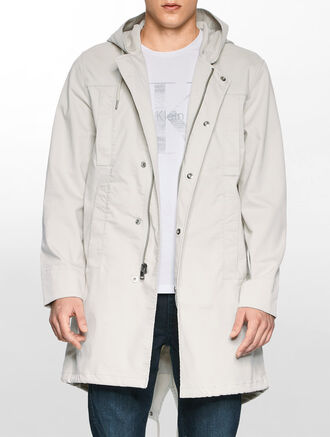 CALVIN KLEIN COTTON PARKA