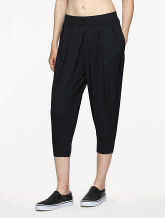 CALVIN KLEIN MULTIPLEAT SWEAT PANTS