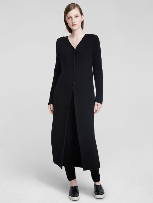 CALVIN KLEIN CASHMERE SWEATER COAT