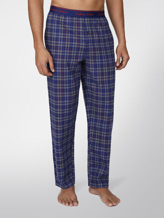 CALVIN KLEIN FLANNEL SLEEPWEAR SLEEP PANTS