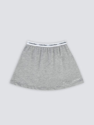CALVIN KLEIN MODERN COTTON WAISTBAND SKIRT