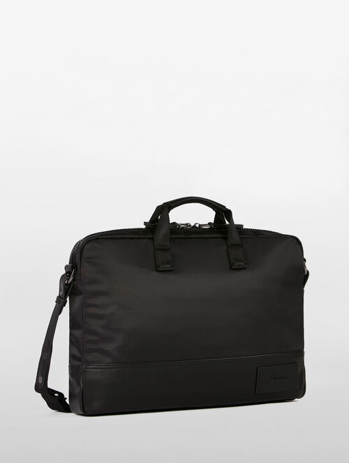 CALVIN KLEIN TECH NYLON SLIM COMMUTER