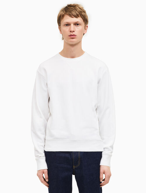 CALVIN KLEIN french terry sweatshirt