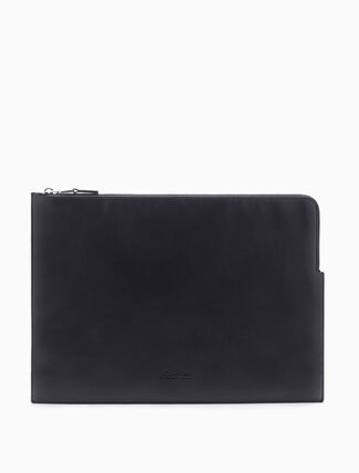 CALVIN KLEIN MEDIUM POUCH WITH FRINGES