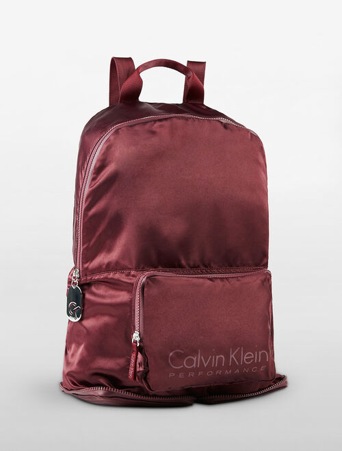 CALVIN KLEIN FOLDABLE BACKPACK