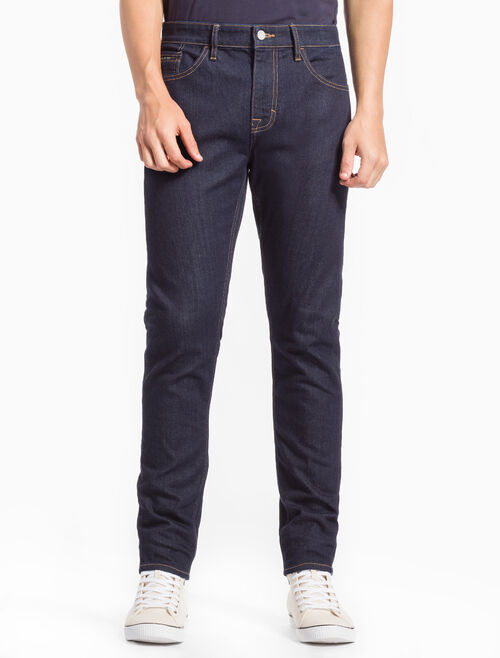 CALVIN KLEIN AIRY RINSE STRAIGHT TAPER JEANS