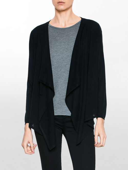 CALVIN KLEIN SKYLER  LONG SLEEVES CARDIGAN