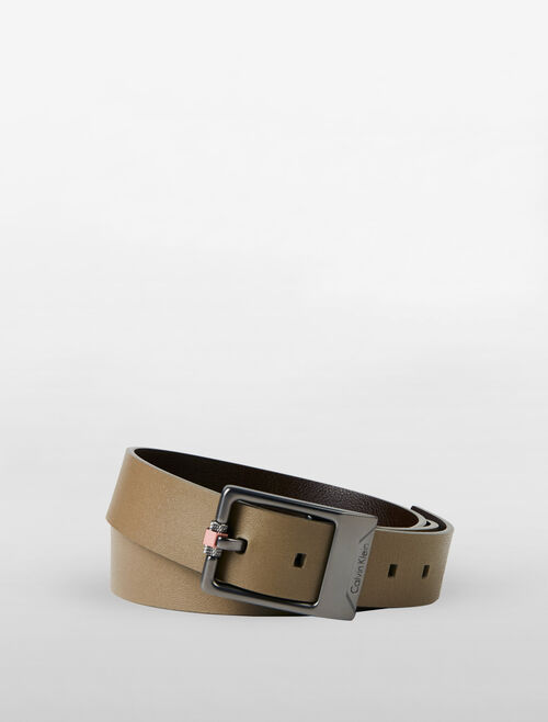 CALVIN KLEIN BASIC REVERSIBLE LEATHER BELT
