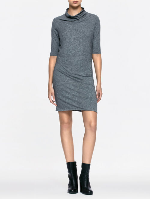 CALVIN KLEIN DACIA LIGHT WEIGHT KNIT DRESS