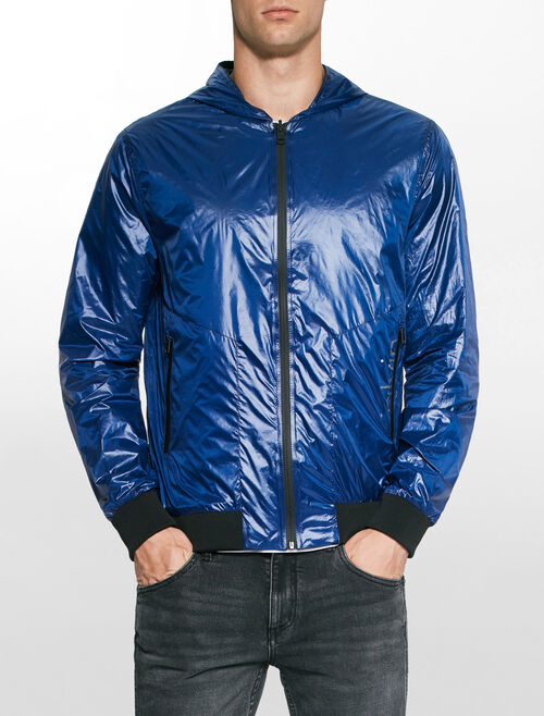 CALVIN KLEIN OCTIC MID REVERSIBLE HOODED JACKET