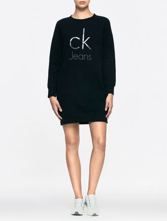 CALVIN KLEIN DOUBLE KNIT LONG SLEEVES TEE